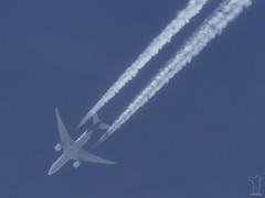 N869FD (PM's photography) Tags: rnav rnavspotterspl spotting contrail airline airliner jet plane sky travel aviation avporn avgeek canon 7d eos tamron 150600g2 overflight boeing fedex cargo freight n869fd b772 b77l b77f b777