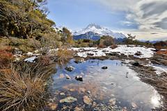Mirror Mountain (thomasbénet) Tags: hiking newzealand roadtrip eos 5dmarkiii canon van wintertrip travel fullframe