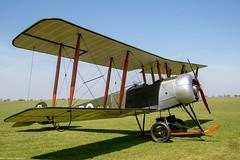 Avro 504k 'Olivia' (Aeroplanes Everywhere) Tags: aircraft aviation unitedkingdom england northamptonshire sywellaerodrome geroe avro 504k