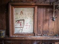 A View to a Kill (Siobhán Bermingham) Tags: naturallight abandoned decay ireland old house deserted farm scythe window