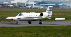 84-0096 (PrestwickAirportPhotography) Tags: egpk prestwick airport usaf united states air force learjet c21a 840096 ramstein mobility wing