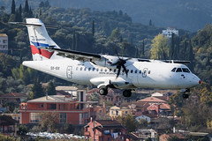 Sky Express ATR 42-500 SX-SIX 001 (A.S. Kevin N.V.M.M. Chung) Tags: aviation aircraft aeroplane airport airlines plane spotting flying greece corfu cfu atr42500 atr approach landing