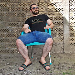 Spartacus (316) (@the.damned.spartacus) Tags: daddy man big shirt fetish muscle beard hairy old older daddies turkish male turk arab muslim guys iranian hot mature jeans jeansbulge bigbulge gucci guccitshirt gucciflipflops feet foot bigfeet size13 toe toes feetfetish legs hairylegs
