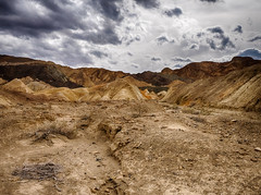 Views along 20 Mule Train Road (Bob Dahlberg) Tags: 20muletrainroad 20mule ca canyon deathvalley mule muletrain muletraincanyon twenty furnacecreek usa cloudy clouds hdr