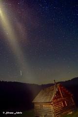 luce luce lontana  che si accende e si spegne quale sarà la mano  che illumina le stelle (silvano fabris) Tags: canonphoto wild photonature natura moon luna stelle stars landscape paesaggionotturno