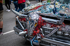 Chrome Long Horn Car Detail (burnt dirt) Tags: houston texas art car parade street streetphotography candid portrait woman man girl sexy boobs young latina asian blonde brunette redhead tights leggings yogapants city town couple lovers friends tattoo downtown pretty beautiful selfie fashion style people person costume cosplay bokeh outdoor shadow sunny rainy documentary xt3 fujifilm cute boots heels skates ponytail long short hair model park chrome cow bull horns
