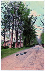 Invergordon - Castle Road (pepandtim) Tags: postcard old early nostalgia nostalgic invergordon castle road macphersons series macpherson brothers tain beauly printed great britain easter ross cromarty scotland 73nve45 mutiny 1931 oil rigs firth nigg wind turbines aluminium smelter 1981 grain whisky distillery cruise liners 1873 mansion macleods cadboll 1928 demolished golf course