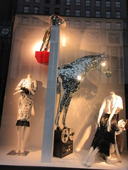 2019 The 2nd Best Easter Window This Year 6495 (Brechtbug) Tags: 2019 the 2nd best easter window this year decorated with disco glitter horse tape recording machine bergdorf goodman department store 5th avenue 58th street nyc new york city fashion april 04202019