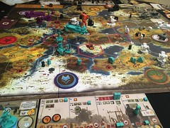 Scythe Vesna faction (RobotSkirts) Tags: boardgame game board boardgamenight scythe riseoffenris vesna