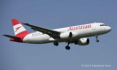 Austrian A320 ~ OE-LBL (© Freddie) Tags: londonheathrow poyle heathrow lhr egll 09l arrivals finnair staralliance airbus a320 oelbl fjroll ©freddie