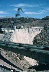 Hoover Dam (Roger Gerbig) Tags: hooverdam nevada arizona rogergerbig canonf1 canonfd35105mmf35 kodachrome64 kr64 slidefilm 135film 35mm transparencyfilm