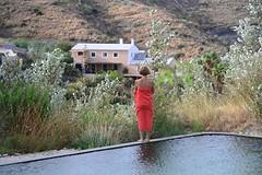 La Balsa y la Casa Al Fondo (brujulea) Tags: brujulea casas rurales turre almeria casa rural nacimiento del rincon balsa fondo