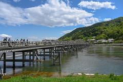 Togetsukyo Bridge(渡月橋) (Hideki-I) Tags: togetsukyo bridge kyoto japan nikon z7 2470 渡月橋 京都 日本 橋