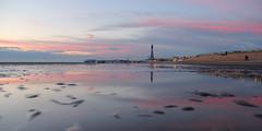 Blackpool (North Ports) Tags: blackpool fylde lancashire sunset tower beach sea water landscape outside sand