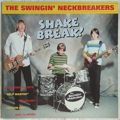 Swingin' Neckbreakers - Shake Break! [1995] (renerox) Tags: swinginneckbreakers theswinginneckbreakers 90s garagerock garage garagepunk g lp lpcovers lpcover records vinyl