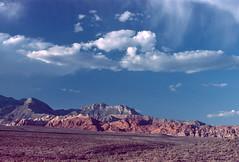 Red Rock Canyon, Nevada (Roger Gerbig) Tags: redrockcanyon lasvegas nevada rogergerbig canonf1 canonfd35105mmf35 kodakelitechrome200 ed200 slidefilm 135film 35mm transparencyfilm