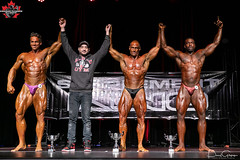 5272Mens Bodybuilding-Heavyweight-2 Kaelan Brennan 1 Steve Parker 3 Jermaine Seymour (CanadianPhysiqueAlliance) Tags: 1jermaineseymour 2steveparker 2019nsphysique 8kaelanbrennan canadianphysiquealliance casinonovascotia mensbodybuildingheavyweight top3 trophy group