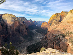 Zion Canyon, from Angel's Landing, Zion National Park