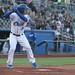 Cuthbert at bat