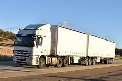 Rand - Mercedez Benz Actros (Scottyb28) Tags: truck trucks trucking highway haulage loaded diesel