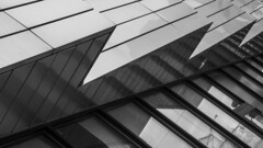 (jfre81) Tags: chicago architecture abstract pattern texture diagonal lines reflection black white bw blackandwhite james fremont photography jfre81 canon rebel xs eos