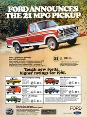 1981 Ford F100 Pickup Courier Pickup Van Bronco 4WD Wagon USA Original Magazine Advertisement (Darren Marlow) Tags: 1 8 9 19 81 1981 f ford f100 c courier v van p pickup w wagon 4 d 4wd b bronco car cool collectible collectors classic a automobile vehicle u s us usa united states american america 80s