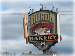 Giant rolling pin (yooperann) Tags: huron mountain bakery sign marquette upper peninsula michiga