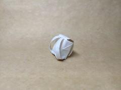 Backpack by 32chonan536 (Zephyr Liu) Tags: origami kraft paper backpack 32chonan536