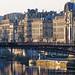 Passerelle Léopold Sédar Senghor, Paris, France