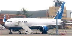 OY-SRW B767 Star Air (kitmasterbloke) Tags: tls toulouse aircraft aviation airliner transport outdoor france