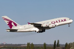 Qatar Airways (czirokbence) Tags: airbus a380 lhbp bud qatar airways airplane airliner aircraft jet jetliner planespotter planespotting spotter canon eos 80d