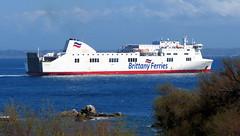 19 04 16 BF Connemara Roscoff (9) (pghcork) Tags: brittanyferries brittany bretagne roscoff connemara ferry ferries carferry 2019