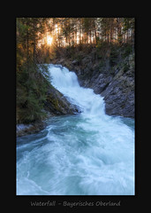 Obernachkanal Waterfall (MC--80) Tags: obernachkanal waterfall bayerisches oberland
