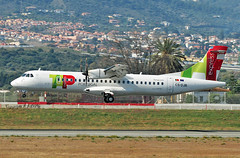 ATR-72-212A CS-DJB Air Portugal Express (EI-DTG) Tags: atr72 atr malagaairport agp 22mar2019 turboprop csdjb airportugal airportugalexpress tap