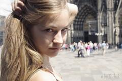 Will You Follow? (RickB500) Tags: rickb rickb500 nastya paloma dasha cute blonde portrait girl cologne köln outdoors street