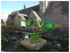 Roscoff Art Work Bretagne (Jane L Edwards) Tags: bretagne roscoff sculpture art