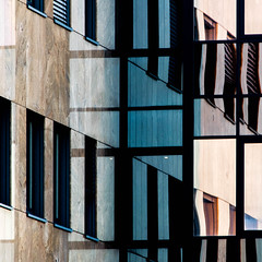 Abstract Square 51 (Récard) Tags: abstract architecture architektur square geometry reflection