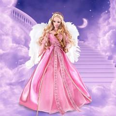 2007 Angel Barbie (Promo) (Paul BarbieTemptation) Tags: 2007 pink label angel barbie bill greening lara