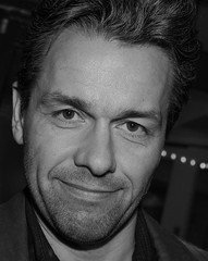 Julian Ovenden at the Noel Coward Theatre in All About Eve (Ibsan73) Tags: allabouteve downtonabbey singer blackandwhite actor julianovenden