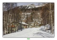 PARC NATIONAL DE LA VANOISE / SAINT-ANTOINE (régisa) Tags: vanoise neige snow savoir maison house tree arbre village hameau