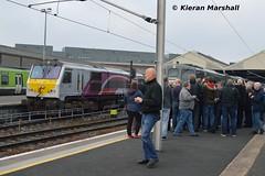 227 at Connolly, 13/4/19 (hurricanemk1c) Tags: railways railway train trains irish rail irishrail iarnród éireann iarnródéireann 2019 generalmotors gm emd 201 enterprise 227 dublin connolly