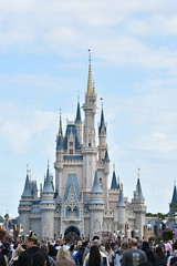 Florida trip - Cinderella castle (shelley.oconnor) Tags: florida orlando animal kingdom disney castle cinderella