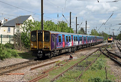 313046 313051 Bowes Park (CD Sansome) Tags: bowes park station tsgn great northern govia thameslink railway gtr fcc first capital connect train trains 313 313046 313051