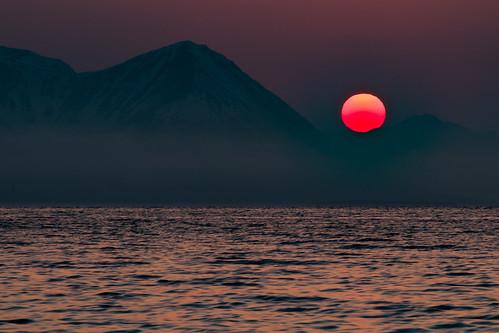 Arctic Sahara sand sunset