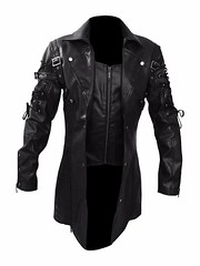 New Steampunk Gothic Black Leather Matrix Trench Coat 1 (stanley.kathy95) Tags: cafashion usfashion gifts trenchcoat menfashion boysfashion gothiccoat menjacket menclothing boysclothing menswear bikers bikerboys lovers fans shopping stylish costume superhotfashion parties casual love elegant awesome leatherjackets