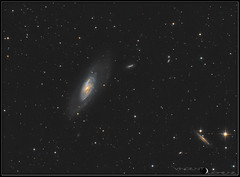 M106_LRVB (VD06_photography) Tags: astronomy astrophotography deep sky galaxy m106
