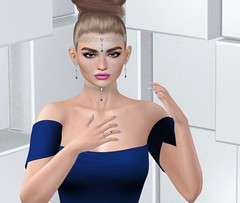 Beloved Jewelry at Swan Faire 1 (Treycee Melody) Tags: belovedjewelry event shopping jewelry accessories tiara earrings choker necklace bentoring texturechange mesh secondlife womens