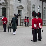 Ottawa Ontario Canada ~ Changing of The Guard ~ Rideau Hall thumbnail