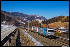 Lokomotion 187 308, Steinach am Brenner 09-02-2018 (Henk Zwoferink) Tags: stjodok henkzwoferink lomo lm lokomotion rtc railtractioncompany traxx bombardier rp traxxac3 railpoolmauerntirolaustria
