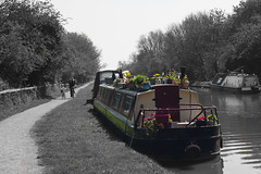 Beautiful Barge (phoebe.horner) Tags: canon camera picture photography photo photographer photos 700d england britain british canal grand union outdoor outdoors outside barge boat boats buckingham river ouse milton keynes northamptonshire cosgrove